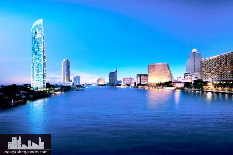 The River Condo, 2 Bedrooms Duplex, 136.52 - 137.02 sq.m.
