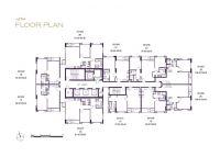 The 39 Sukhumvit, 2 bedroom 75.50 sq.m.